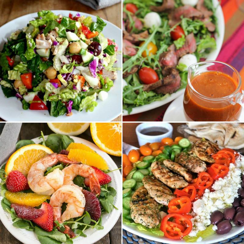 Summer Salads For Dinner  Summer Dinner Salads