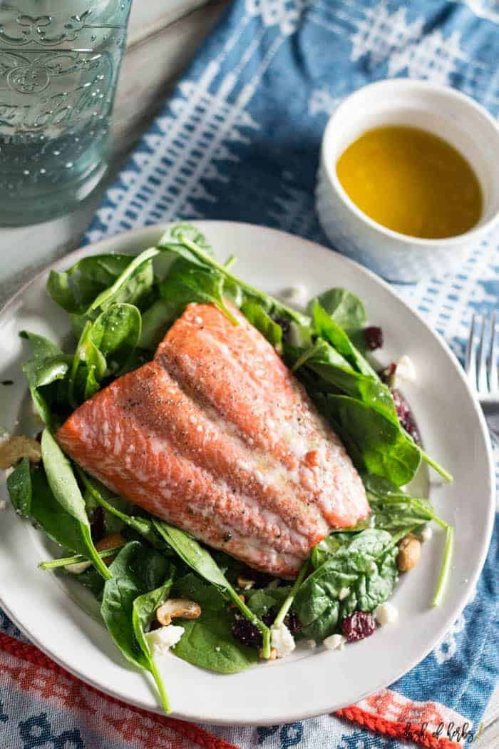 Summer Salmon Salad  Simple Salmon Summer Salad Dash of Herbs
