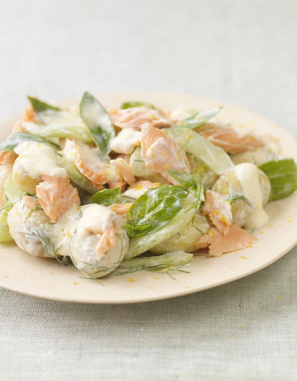 Summer Salmon Salad  Salmon Summer Salad Fish Recipes