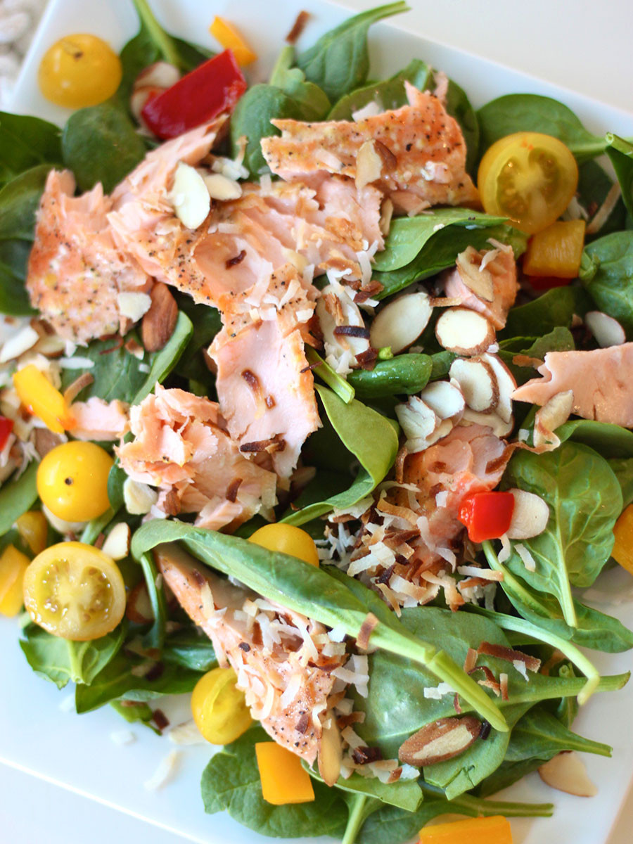 Summer Salmon Salad  Mr & Mrs B s Cheeky Summer Salmon Salad Mr & Mrs B s Hot