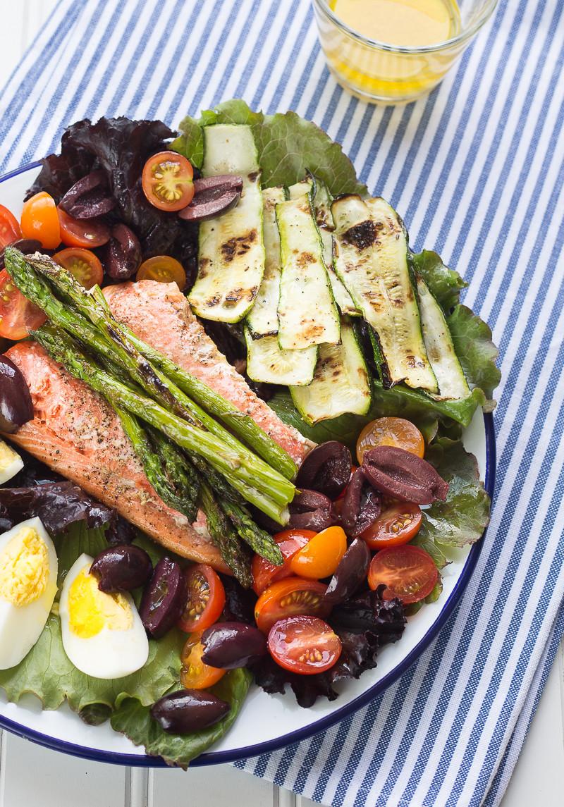 Summer Salmon Salad  Summer Salmon Salad – Stasty