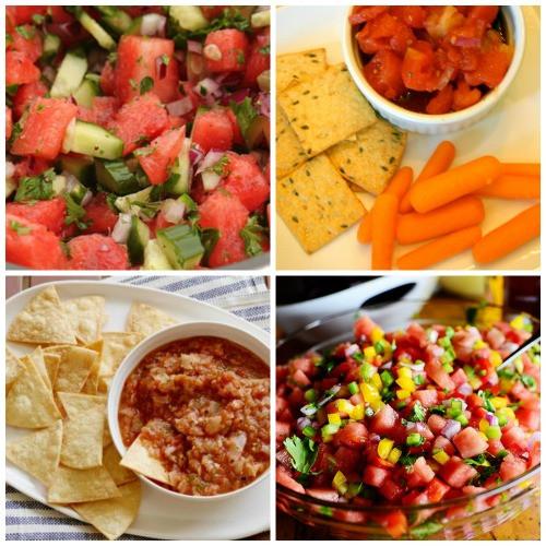 Summer Salsa Recipe  End of summer salsa recipes