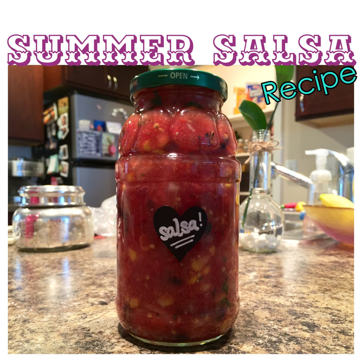Summer Salsa Recipe  Summer Salsa Easy Recipe