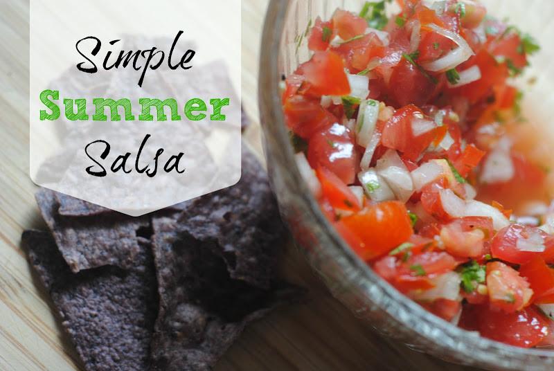 Summer Salsa Recipe  Simple Summer Salsa Recipe