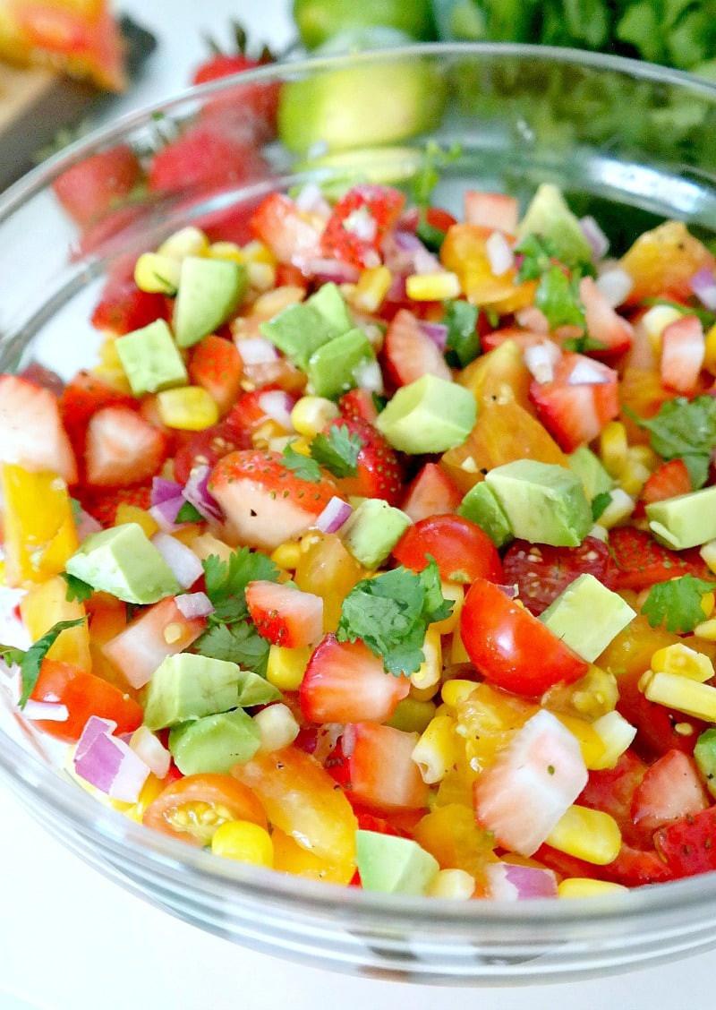 Summer Salsa Recipe  easy summer salsa