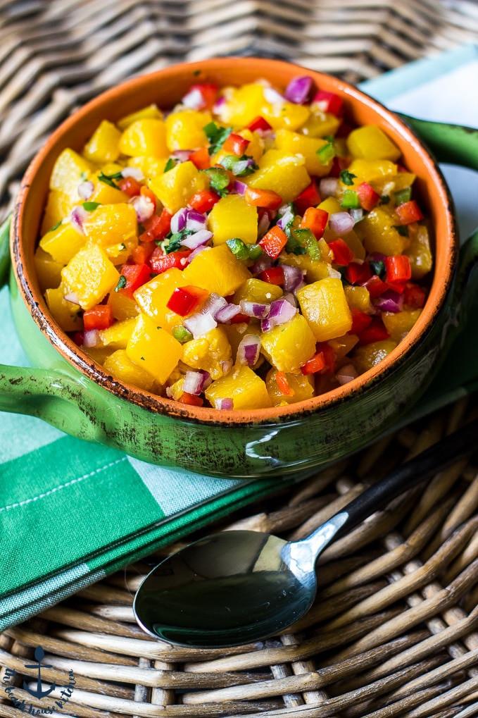 Summer Salsa Recipe  Summer Peach Salsa Recipe — Dishmaps