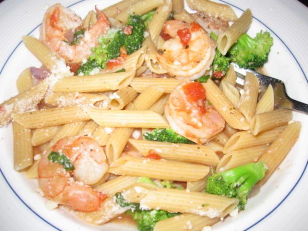 Summer Shrimp Pasta  Summer Shrimp Pasta Recipe Food