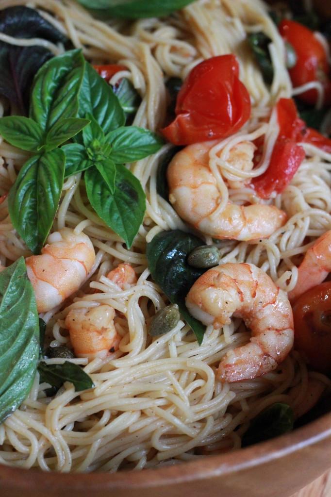 Summer Shrimp Pasta  Summer Shrimp Pasta Recipe Oysters & Pearls