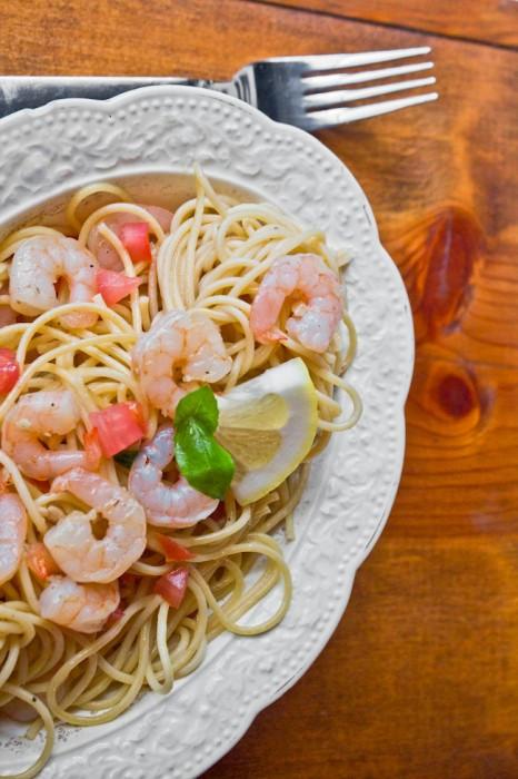 Summer Shrimp Pasta  Italian Pasta Salad