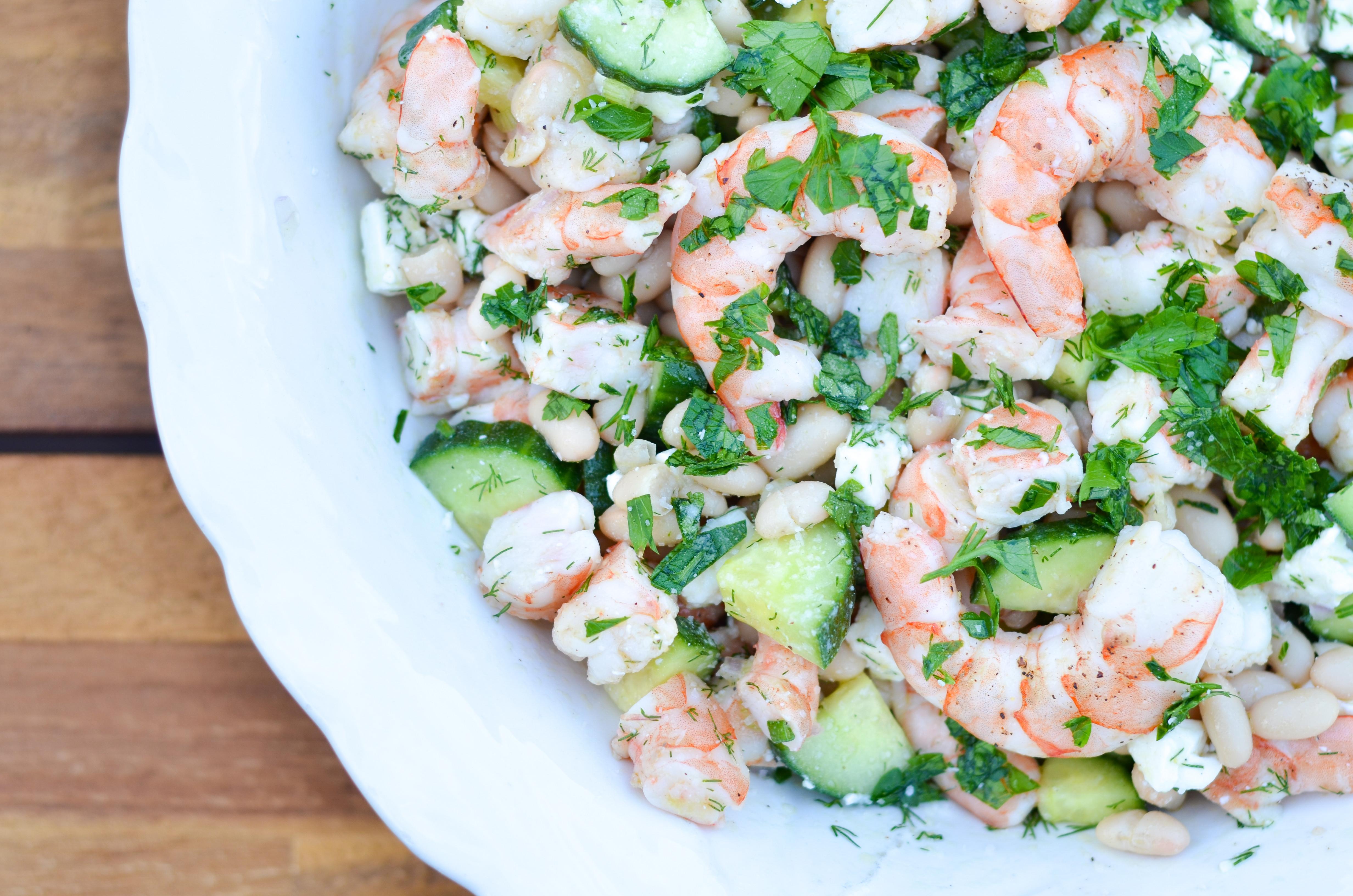 Summer Shrimp Salad  Cucumber Shrimp Salad Recipe The Chronicles of Home