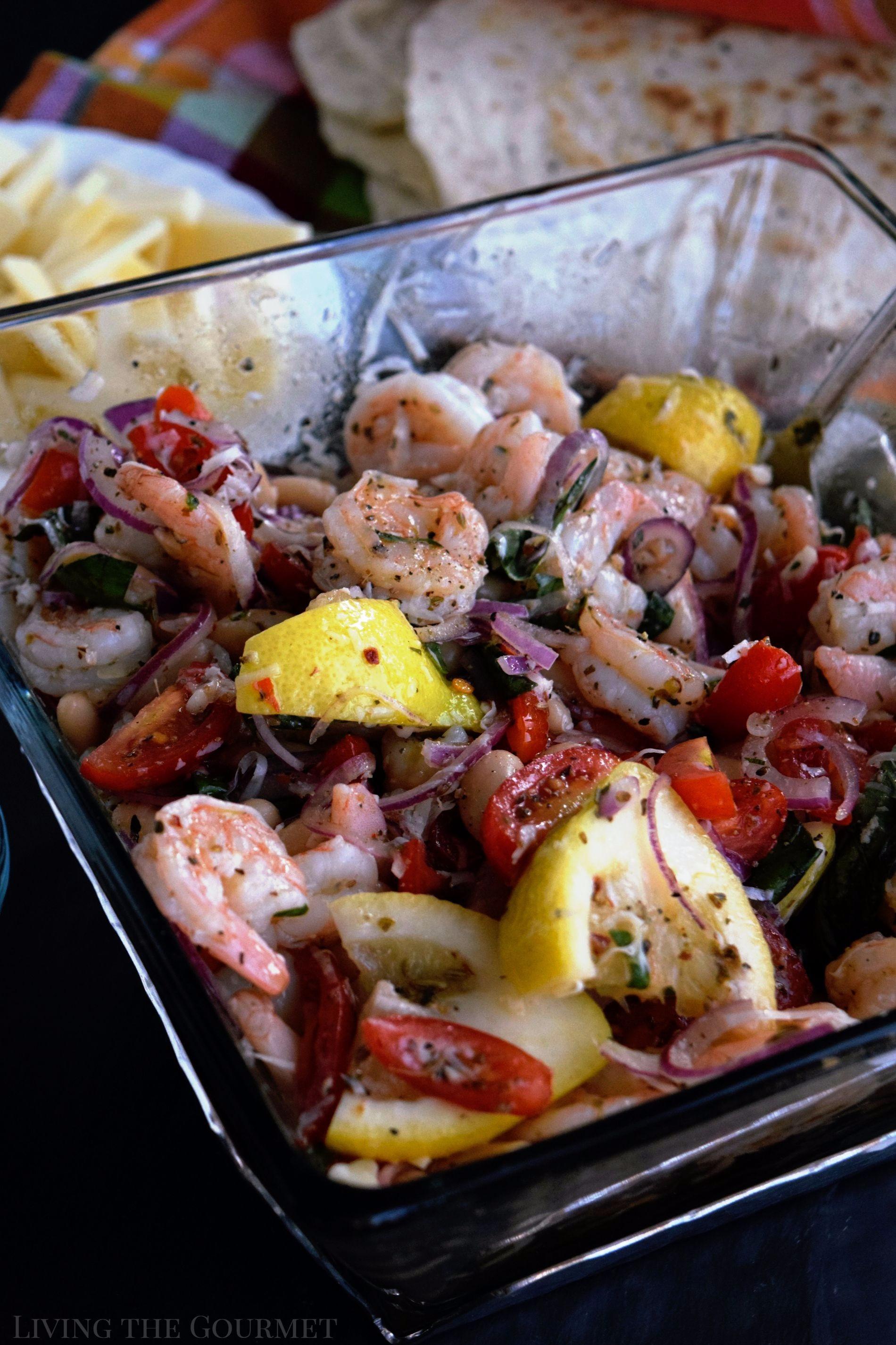 Summer Shrimp Salad  Summer Shrimp Salad Living The Gourmet