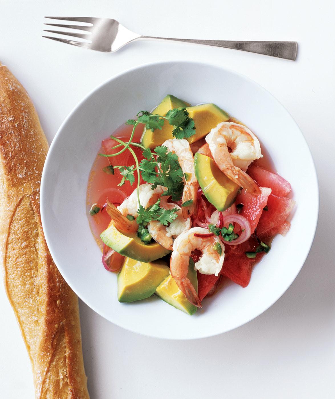 Summer Shrimp Salad  Summer Shrimp Salad 26 Hearty Satisfying Lunches