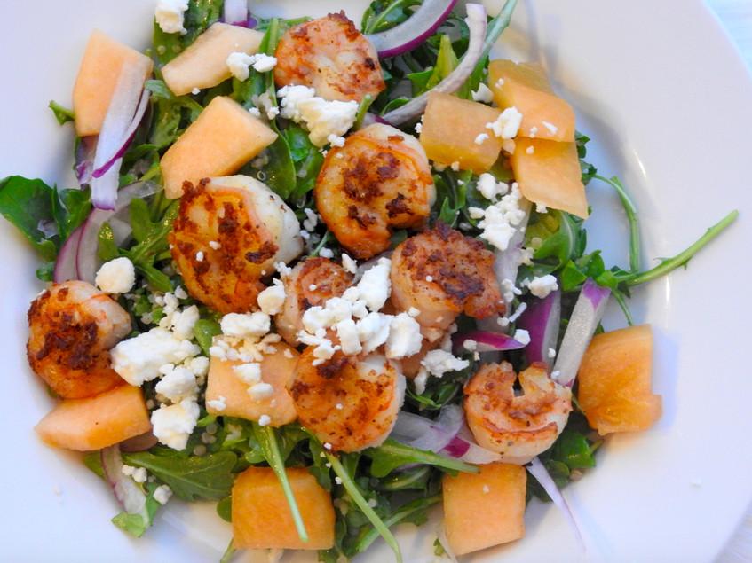 Summer Shrimp Salad  Sweet Salty Crunchy Summer Shrimp Salad Taylor Walker Fit