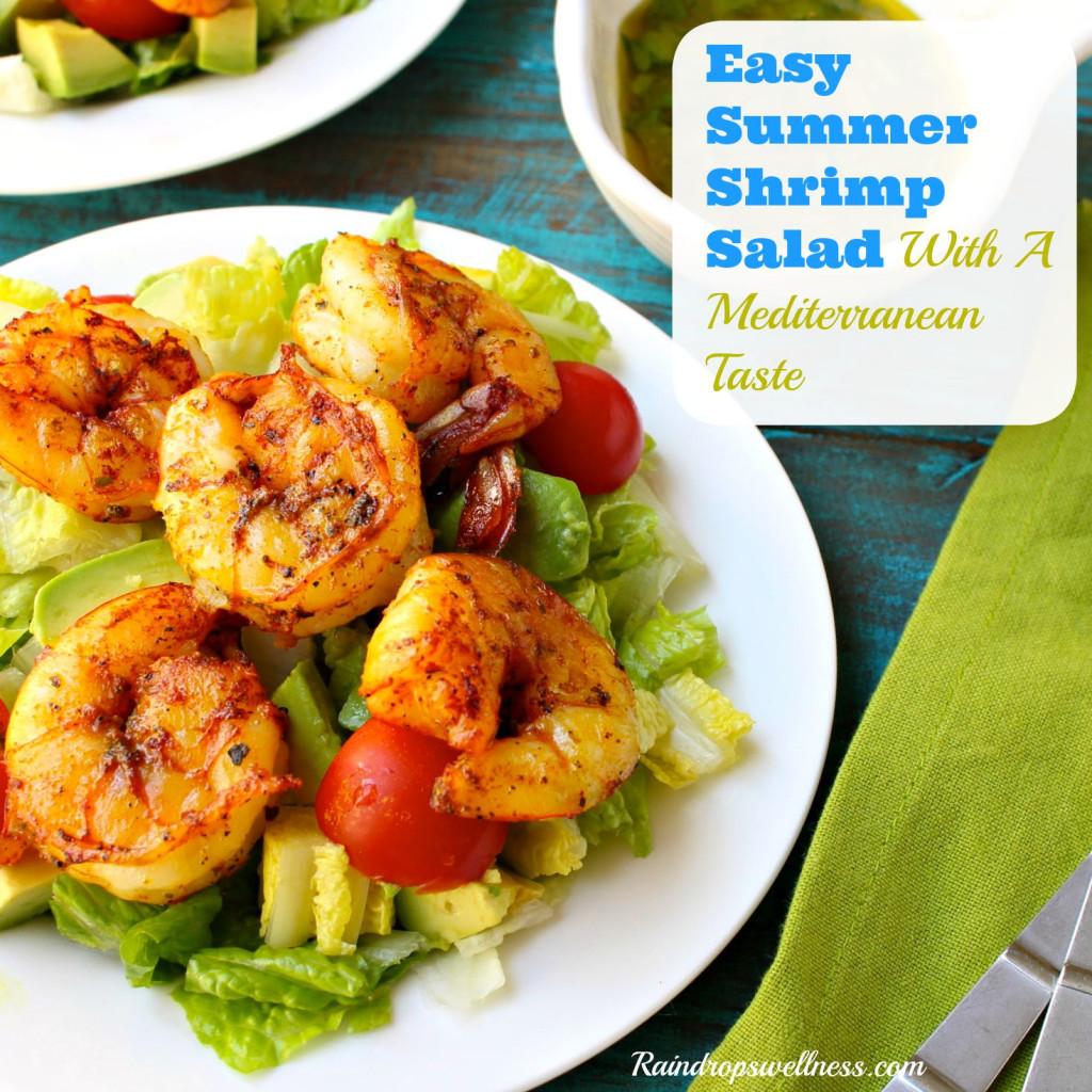 Summer Shrimp Salad  Easy Summer Shrimp Salad