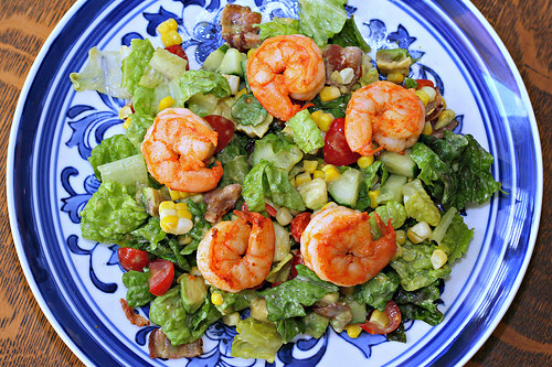 Summer Shrimp Salad  So Tasty So Yummy Summer Shrimp Salad