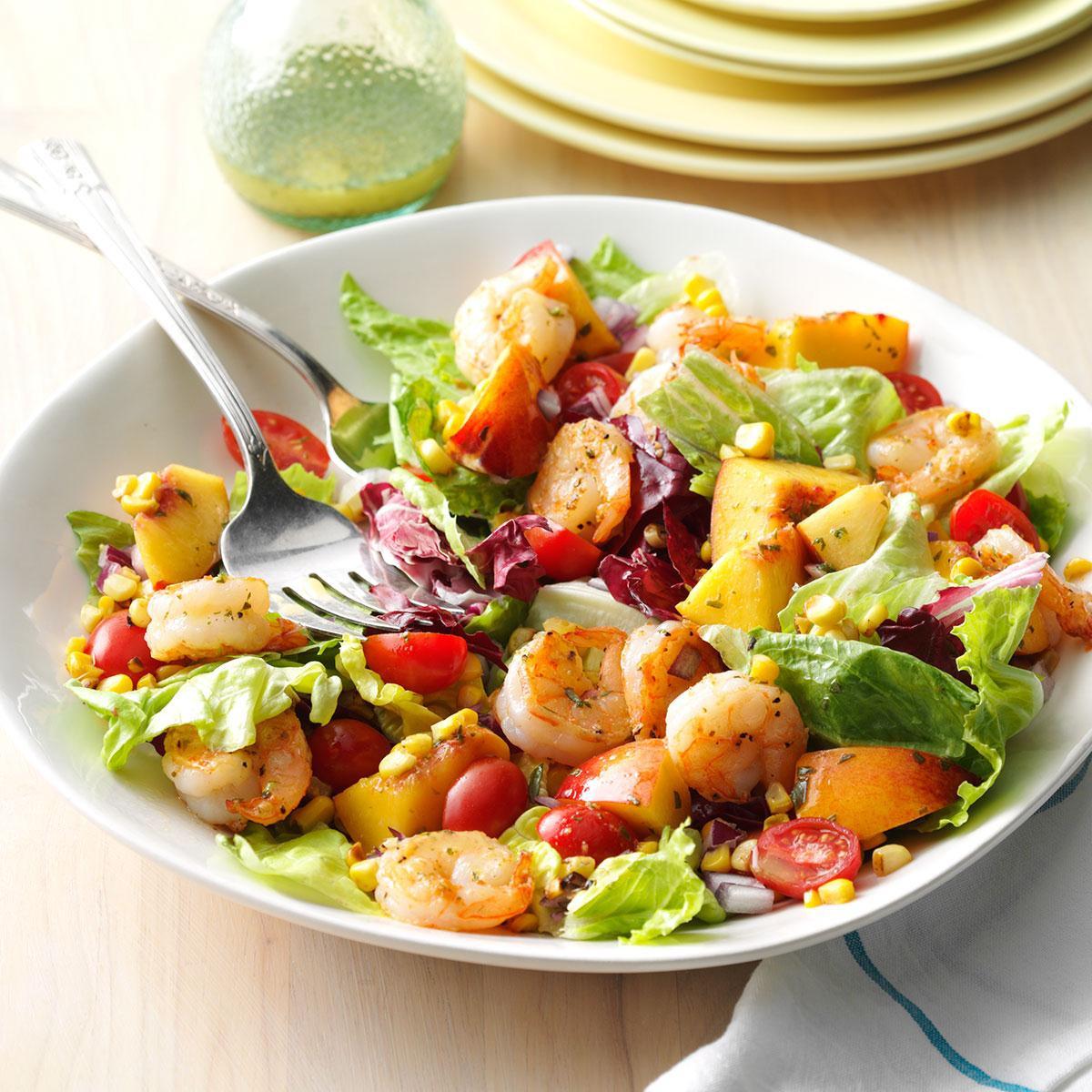 Summer Shrimp Salad  Shrimp & Nectarine Salad Recipe