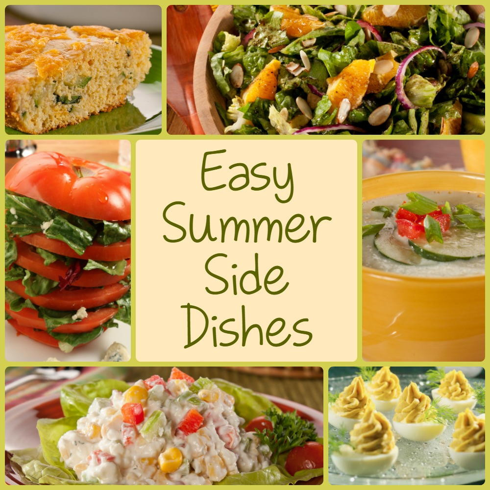 Summer Side Dishes  10 Easy Summer Side Dishes