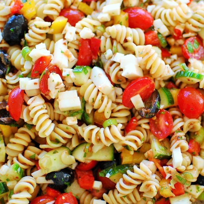 Summer Side Dishes For A Crowd  Cold Pasta Salad