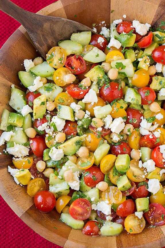 Summer Side Dishes For A Crowd  19 makkelijke snelle én gezonde saladerecepten NSMBL