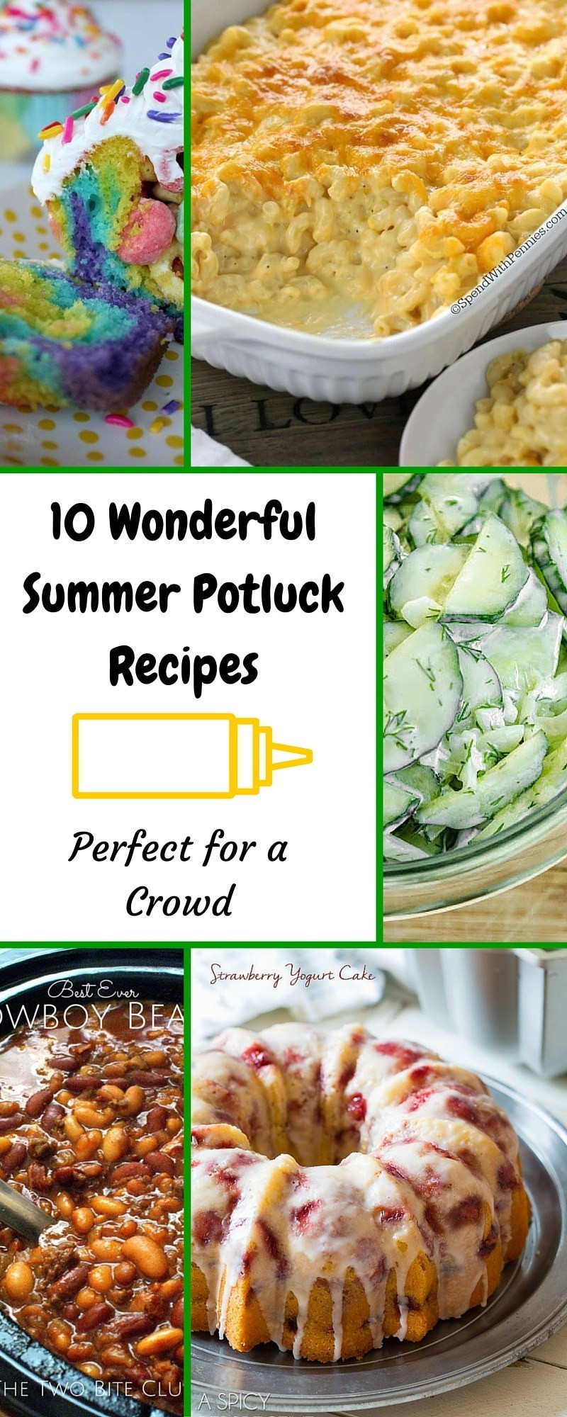 Summer Side Dishes For A Crowd  10 Wonderful Summer Potluck Recipes Perfect for a Crowd
