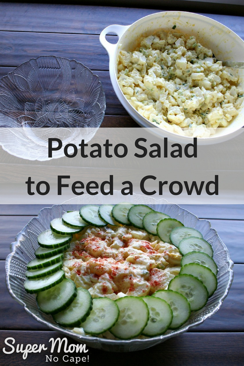 Summer Side Dishes For A Crowd  Potato Salad to Feed A Crowd A Perfectly Delicious