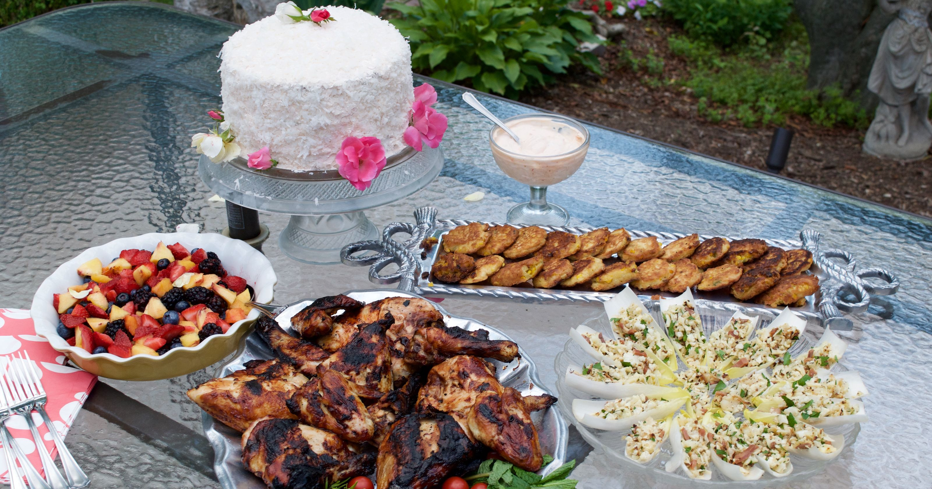 Summer Side Dishes For Cookout  Summer cookout es with a surprise birthday cake