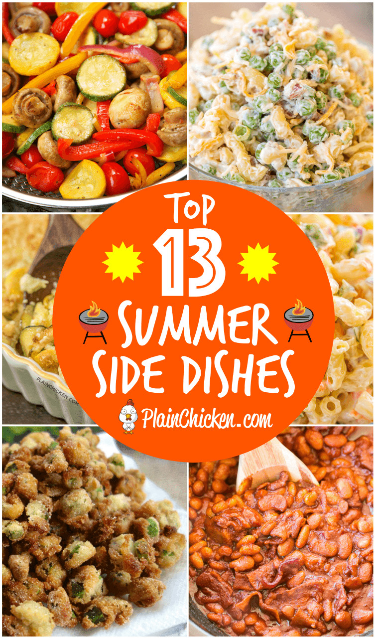 Summer Side Dishes For Cookout  Top 13 Summer Side Dishes