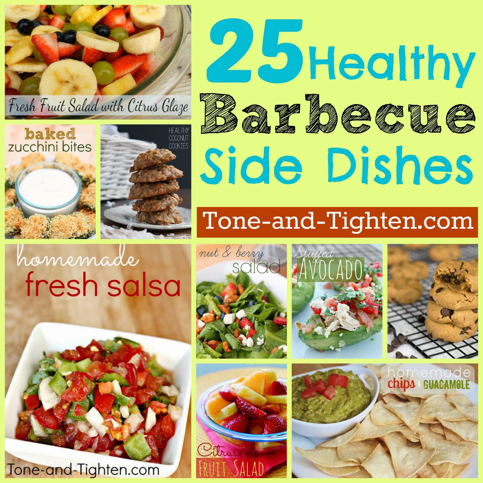 Summer Side Dishes Recipes  25 Healthy Summer BBQ Side Dishes