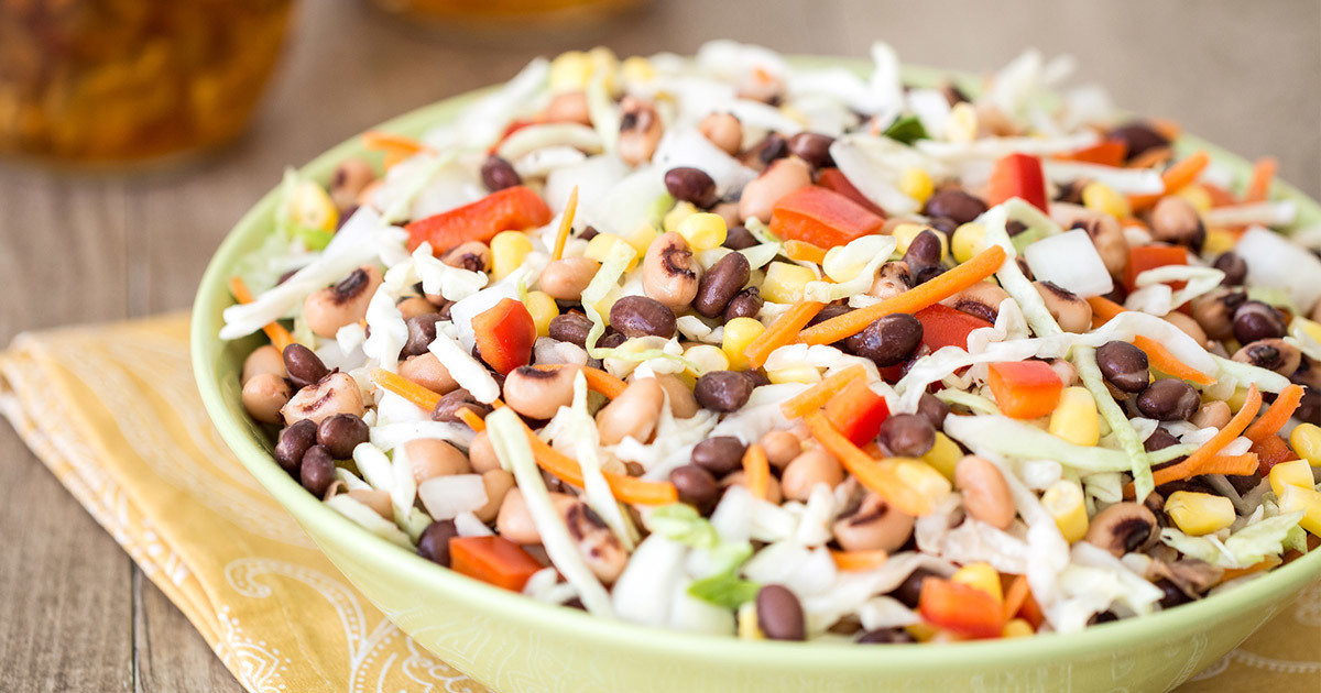 Summer Side Dishes Recipes  Healthy No Cook Side Dish Recipes Cowgirl Caviar Slaw