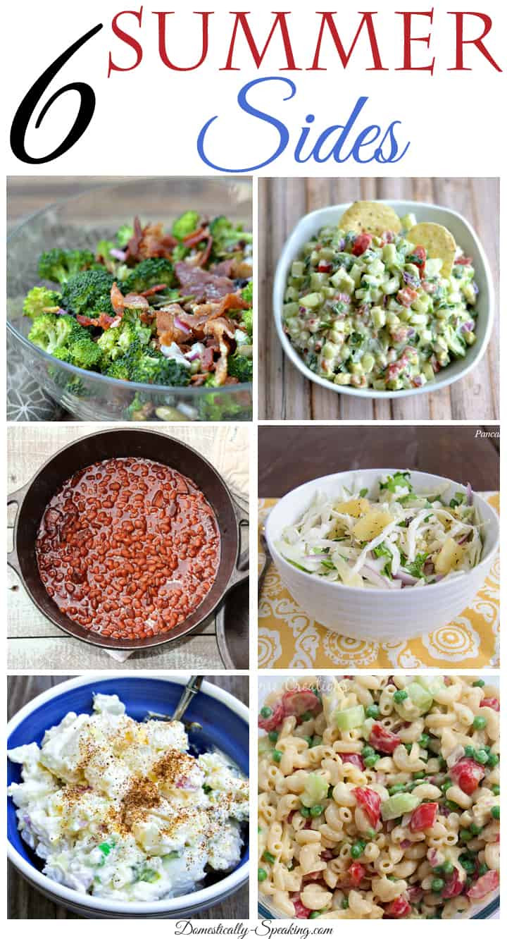 Summer Side Dishes Recipes  Super Summer Sides Domestically Speaking