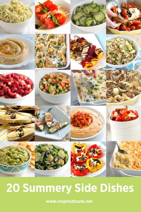 Summer Side Dishes  20 Summery Side Dishes