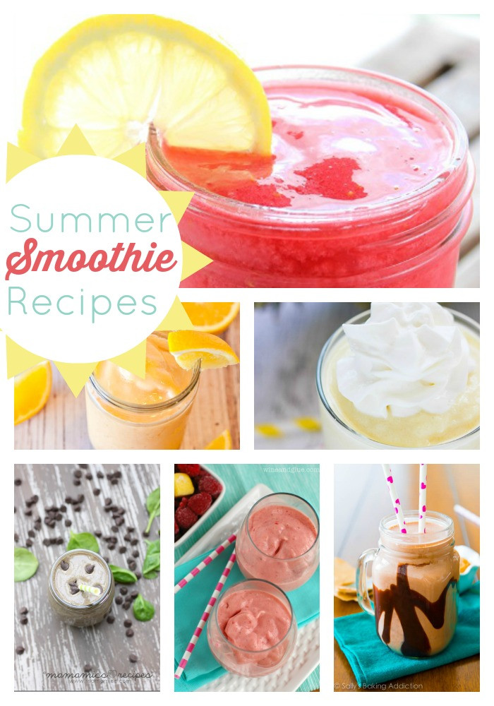 Summer Smoothie Recipes  Summer Smoothie Recipes