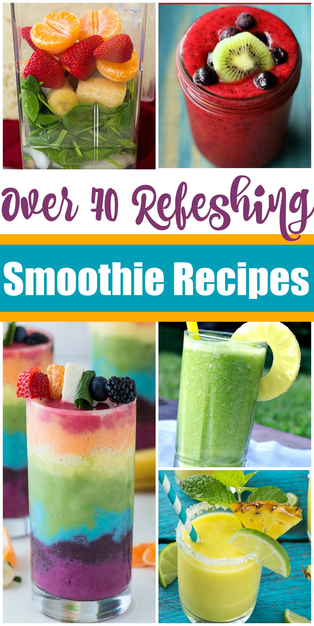 Summer Smoothie Recipes  70 Smoothies You Need In Your Life This Summer Dinner