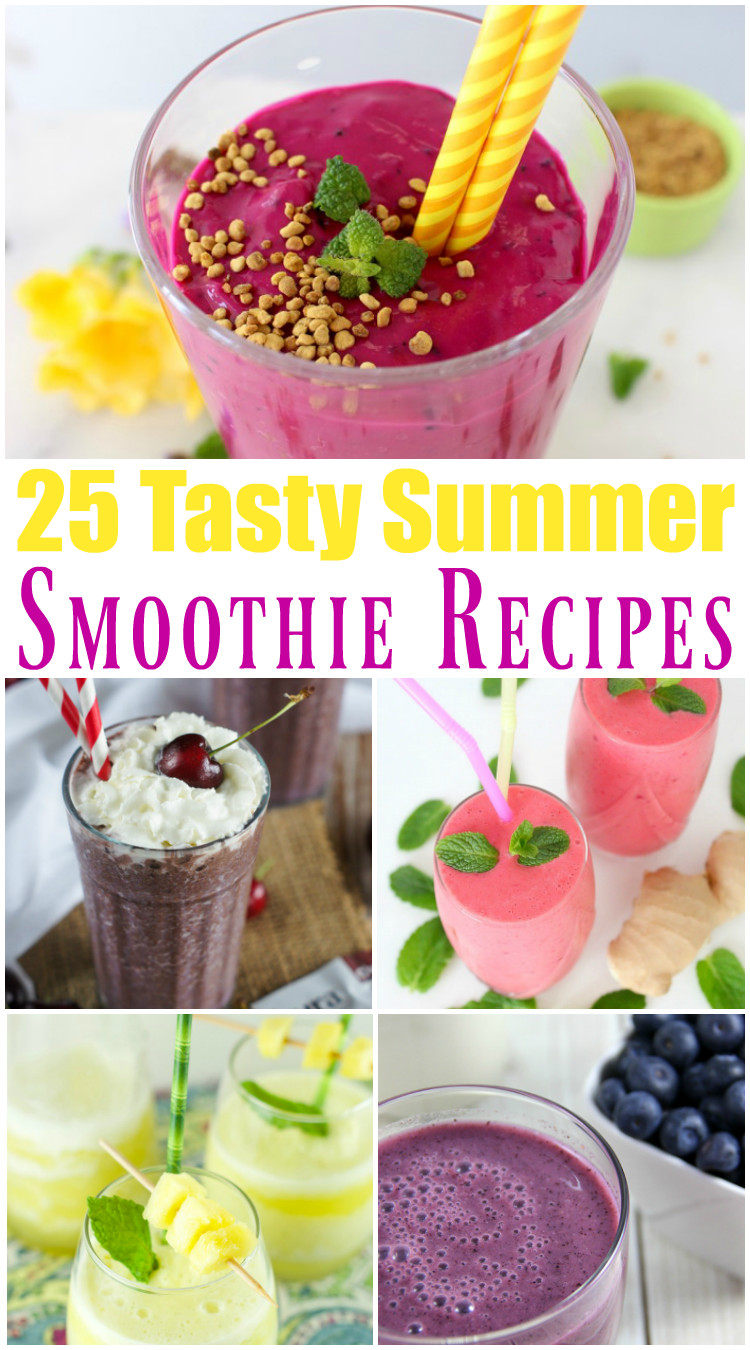 Summer Smoothies Recipes  25 Tasty Summer Smoothie Recipes Outnumbered 3 to 1