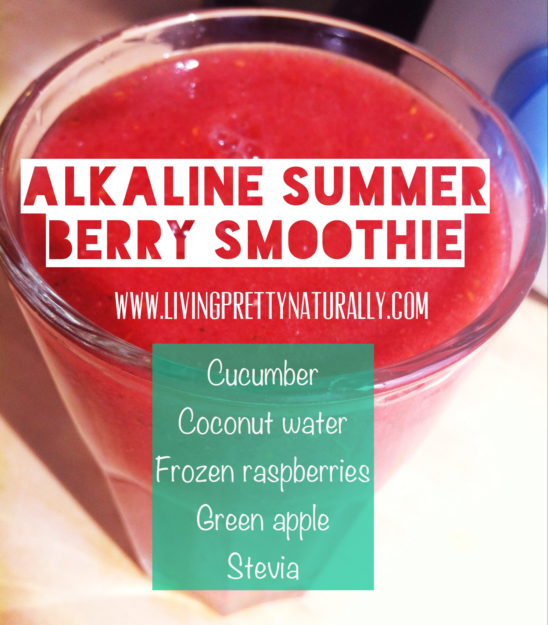 Summer Smoothies Recipes  LPN Smoothie Recipes Super Alkaline Summer Berry Smoothie