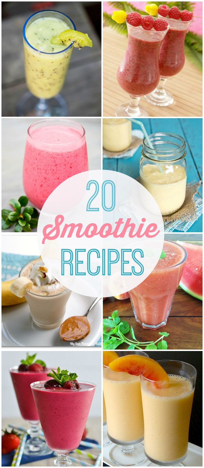 Summer Smoothies Recipes  20 Smoothie Recipes