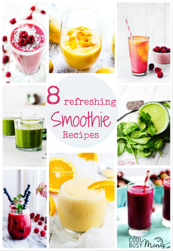 Summer Smoothies Recipes  8 Smoothie Recipes You ll Love This Summer Cool Busy Moms