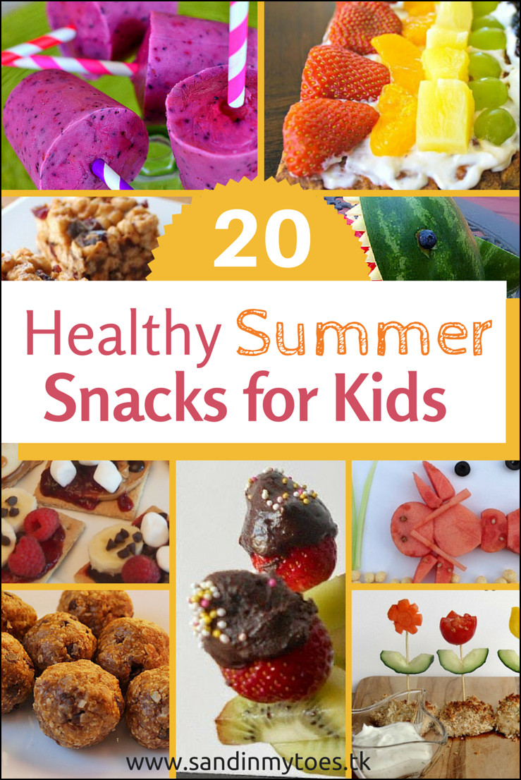 Summer Snacks Recipes  20 Healthy Summer Snacks for Kids