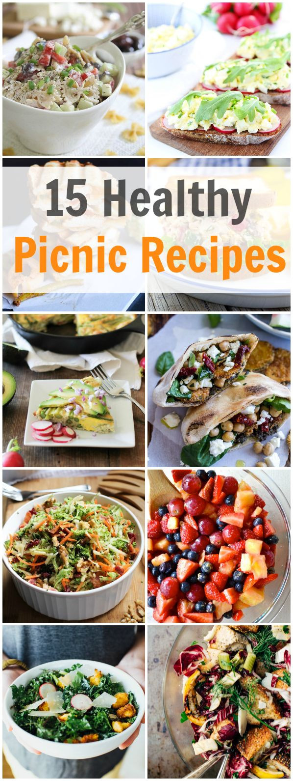 Summer Snacks Recipes  Best 25 Healthy Picnic Recipes ideas on Pinterest