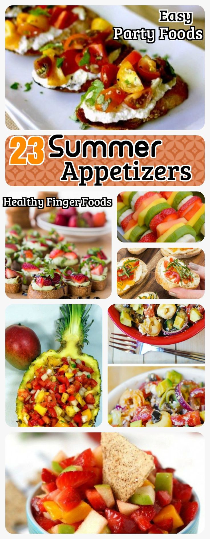 Summer Snacks Recipes  Best 25 Easy summer appetizers ideas on Pinterest