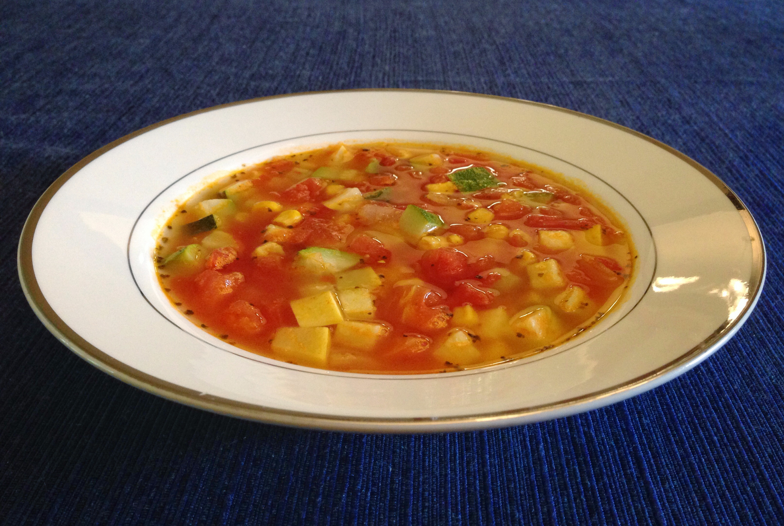Summer Soup Recipes Vegetarian  Summer Ve able Soup – The Cordial Chef