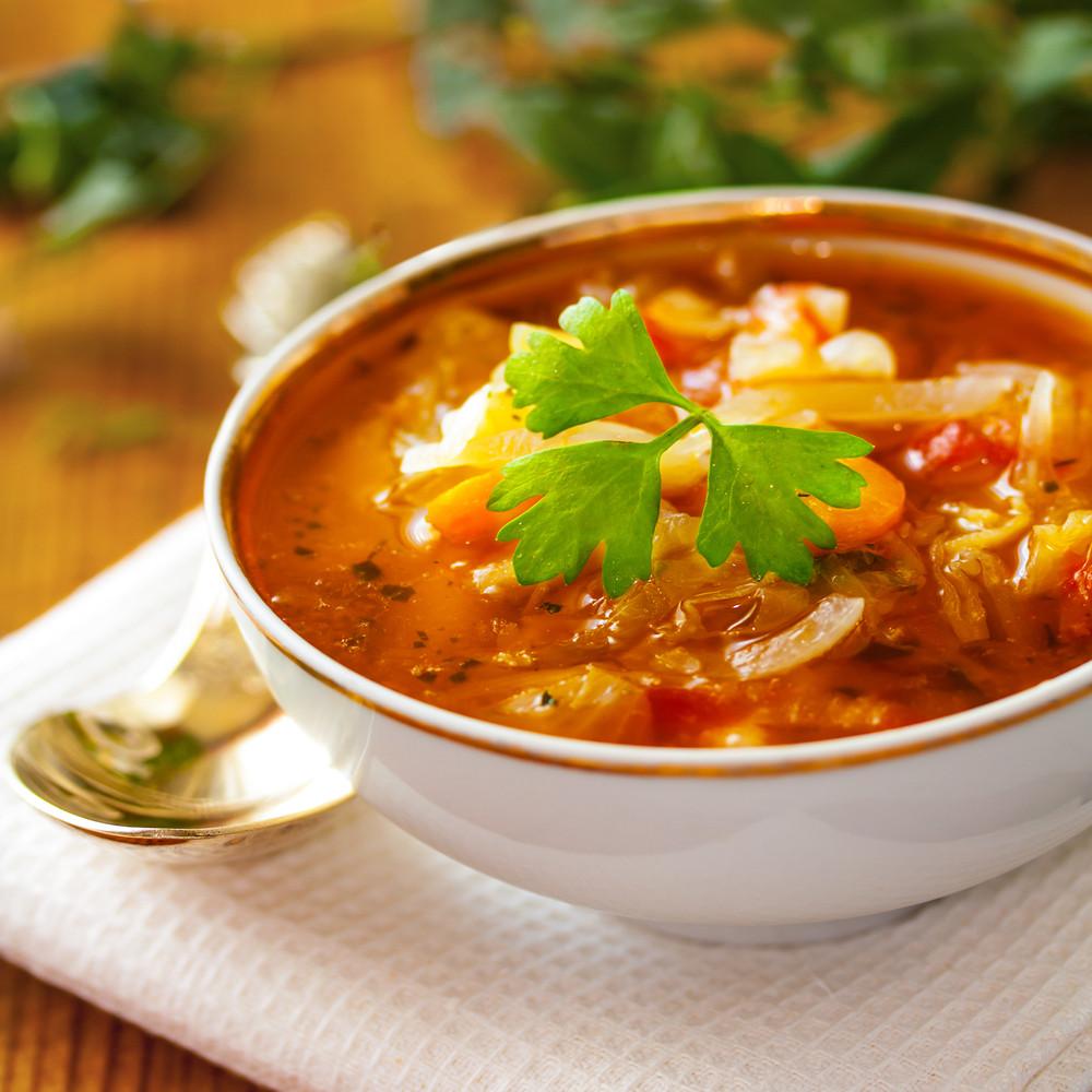 Summer Soup Recipes Vegetarian  Summer Ve able Soup BigOven