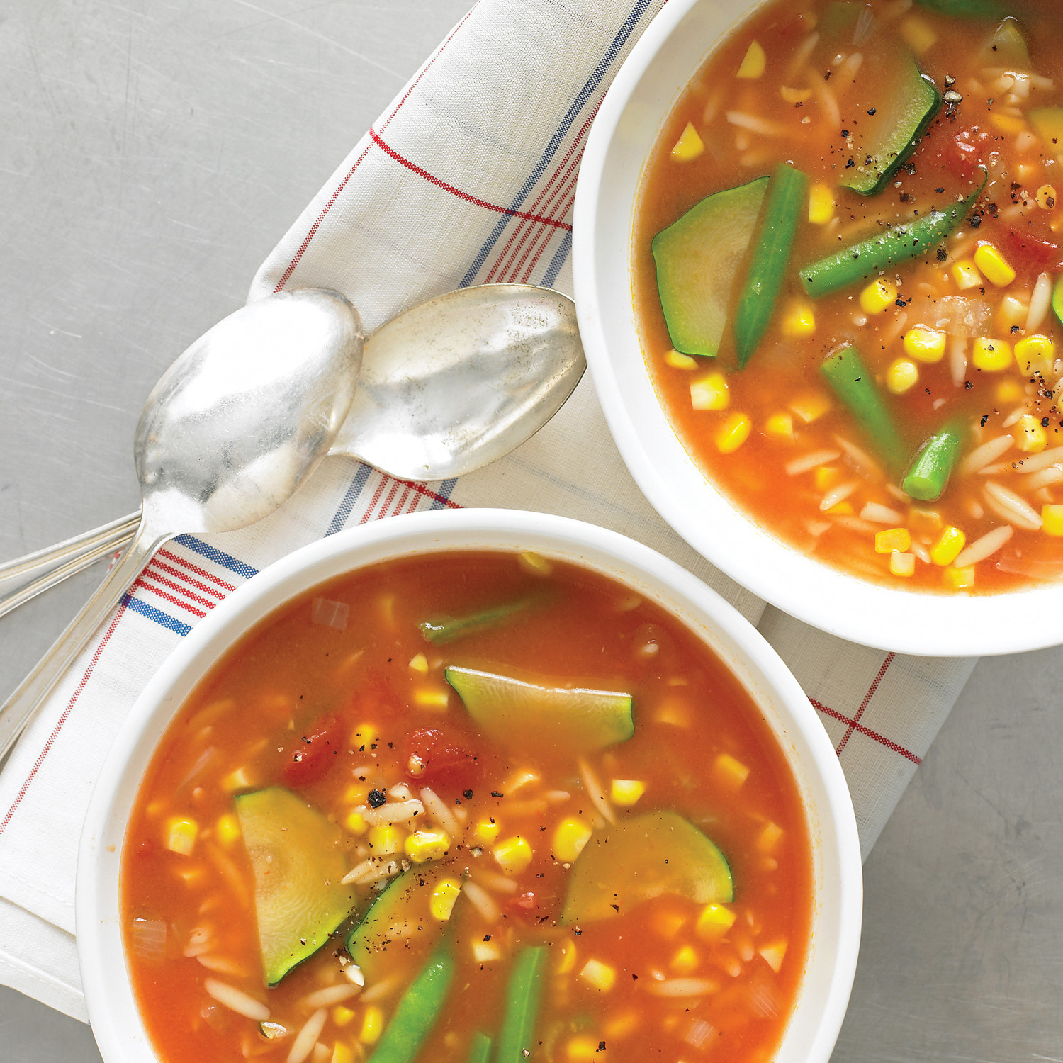 Summer Soup Recipes Vegetarian  Late Summer Ve able Soup