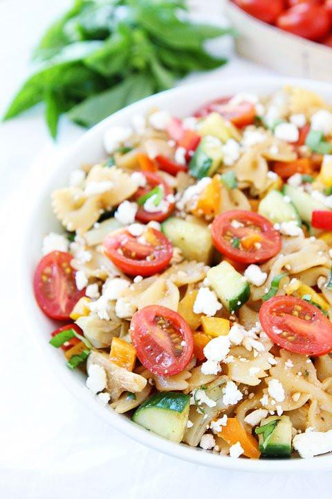 Summer Spaghetti Salad  Easy Summer Pasta Salad Recipe