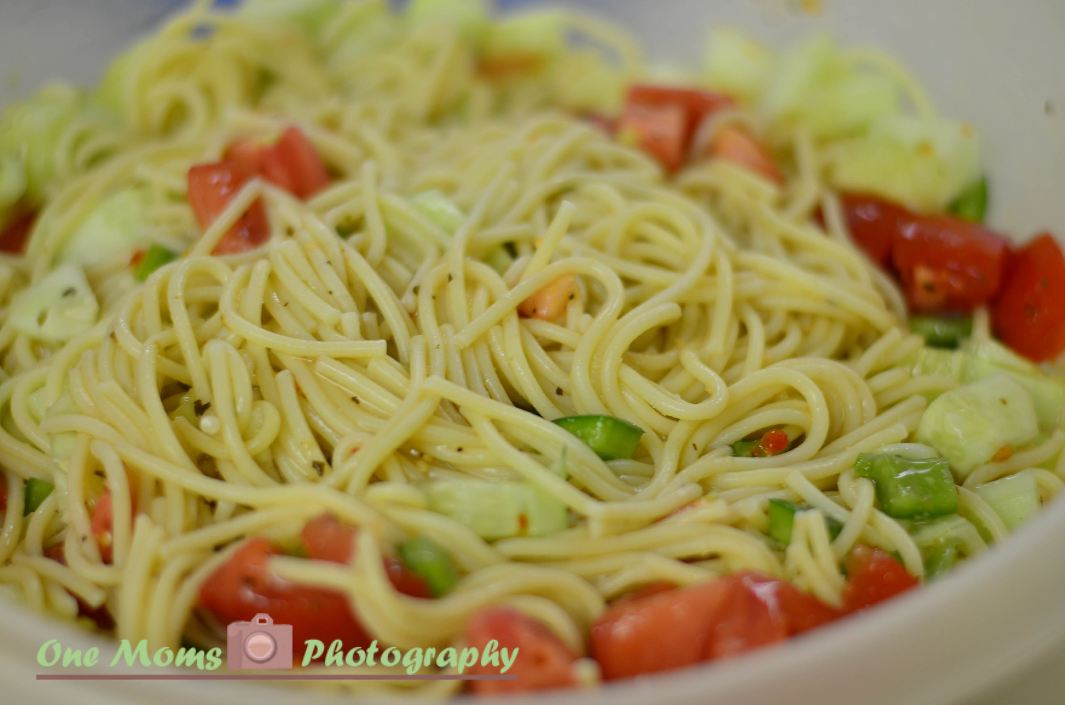 Summer Spaghetti Salad  You have to try this summer spaghetti salad