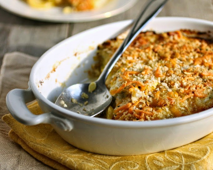 Summer Squash Casserole  Hungry Couple Yellow Summer Squash Casserole