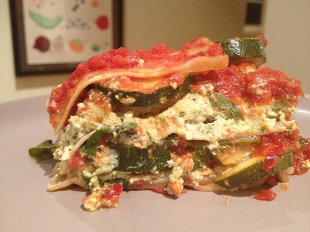 Summer Squash Lasagna  How to Cook Vegan Summer Squash Lasagna Recipe Snapguide