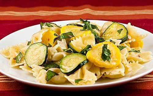 Summer Squash Noodles  Pasta Recipes The Italian Chef
