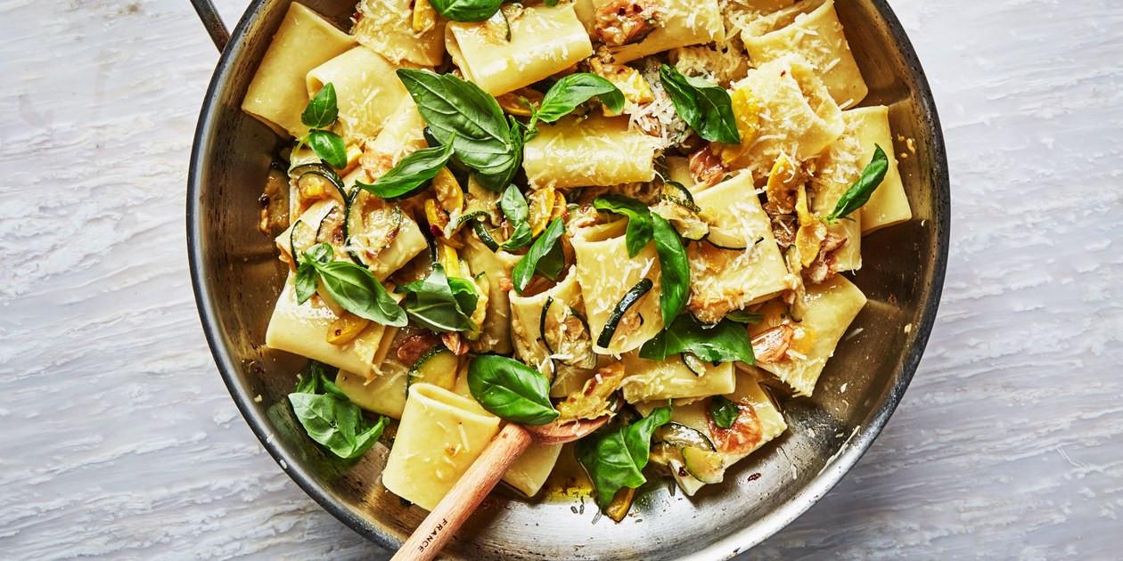 Summer Squash Noodles  Summer Squash and Basil Pasta recipe