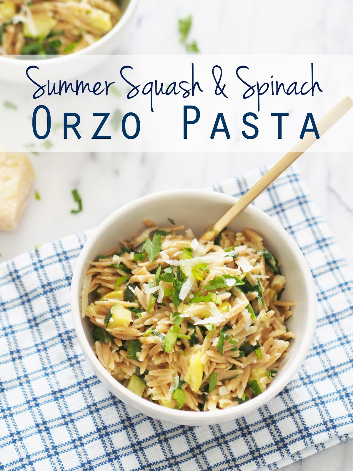 Summer Squash Noodles  Typical Domestic Babe Summer Squash & Spinach Orzo Pasta